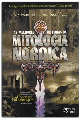 Baixar Livro As Melhores Historias da Mitologia Nórdica - A. S. Franchini  em ePub PDF Mobi ou Ler Online