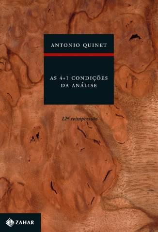 Baixar As 4+1 Condições da Análise - Antonio Quinet ePub PDF Mobi ou Ler Online