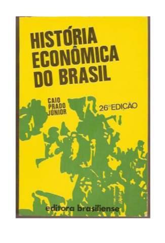Baixar Livro História Econômica do Brasil - Caio Prado Junior  em ePub PDF Mobi ou Ler Online