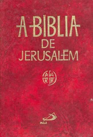 Baixar Livro Biblia de Jerusalém - Editora Paulus em ePub PDF Mobi ou Ler Online