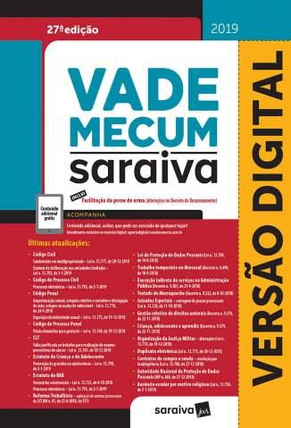 Baixar Livro Vade Mecum Tradicional - 27ª Ed. 2019 - Editora Saraiva em ePub PDF Mobi ou Ler Online