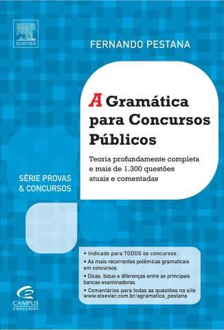 Baixar A Gramática para Concursos Públicos - Fernando Pestana ePub PDF Mobi ou Ler Online