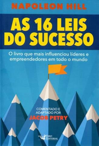 Baixar Livro As 16 Leis do Sucesso - Jacob Petry em ePub PDF Mobi ou Ler Online