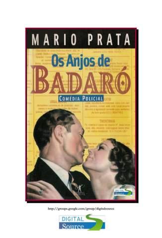 Baixar Os Anjos de Badaró - Mario Prata ePub PDF Mobi ou Ler Online