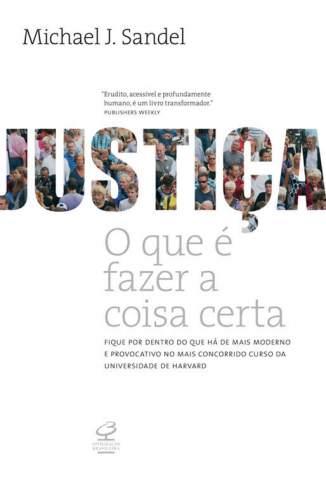 Baixar Livro Justiça: o que é Fazer a Coisa Certa - Michael J. Sandel em ePub PDF Mobi ou Ler Online