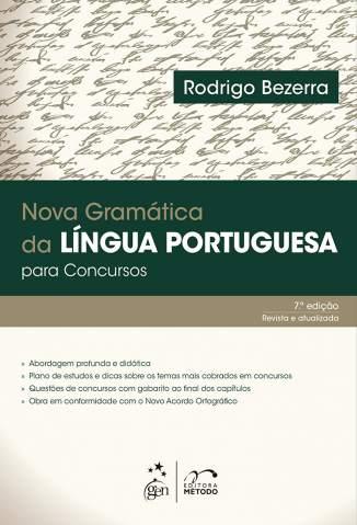 Baixar Livro Nova Gramática da Língua Portuguesa para Concursos - Rodrigo Bezerra em ePub PDF Mobi ou Ler Online